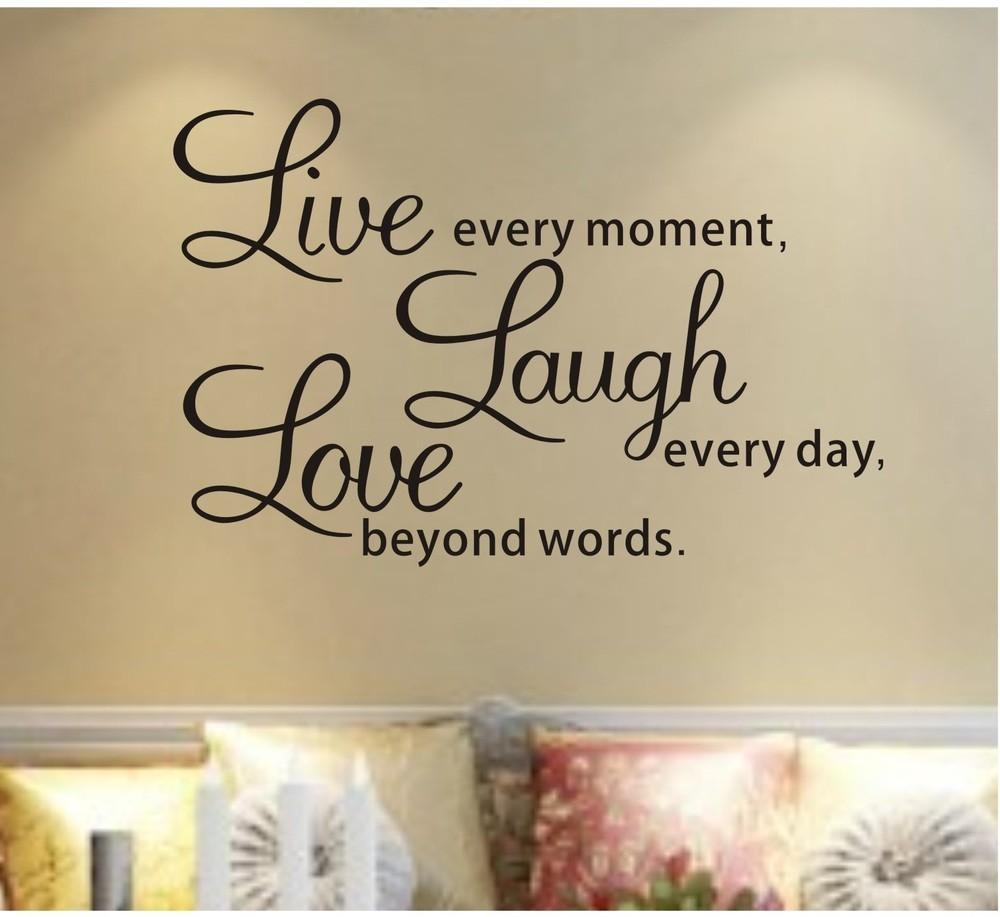 Amazing Wall Quotes Bedroom Life