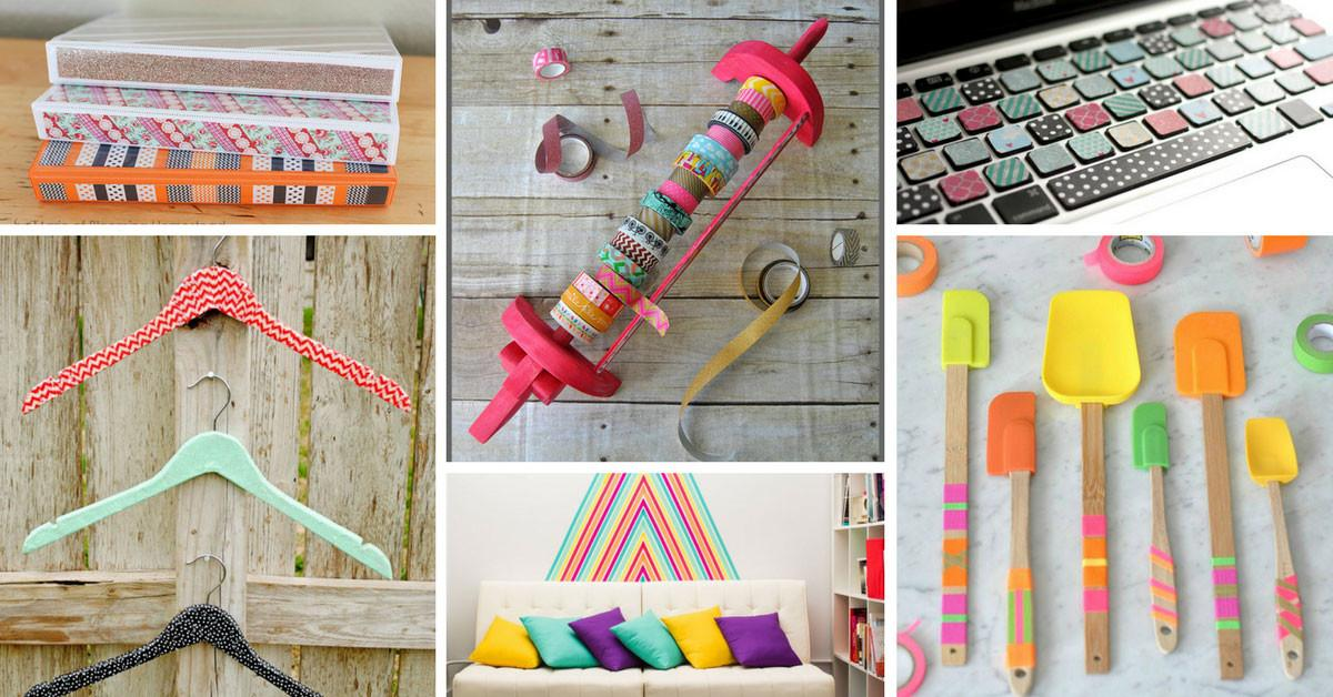 Amazing Washi Tape Crafts Need Try