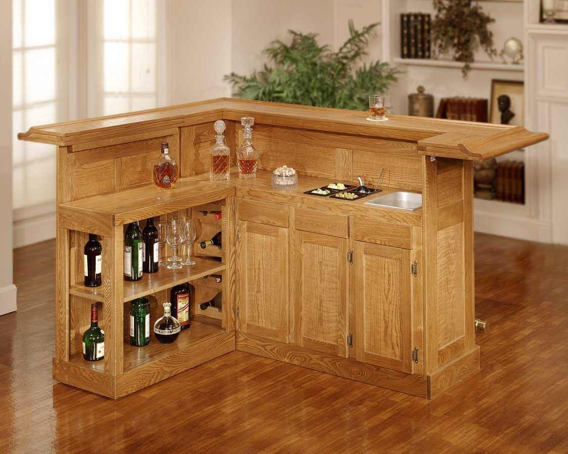 Amazing Wooden Bar Plans Small Room Home Remodel