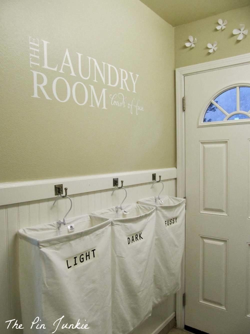 Amazingly Clever Ways Organize Your Laundry Room