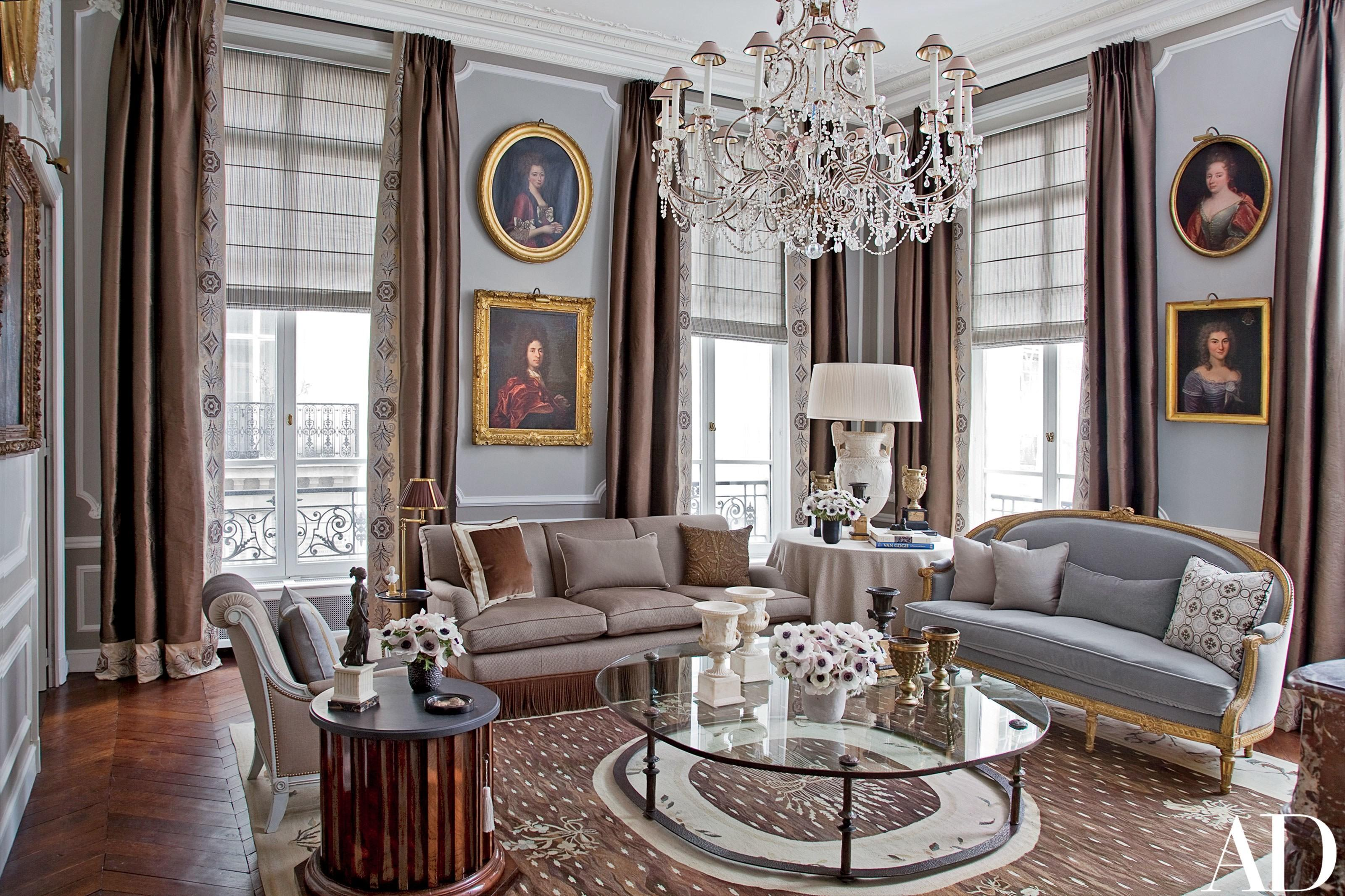 American Couple Paris Home Celebrates French Style