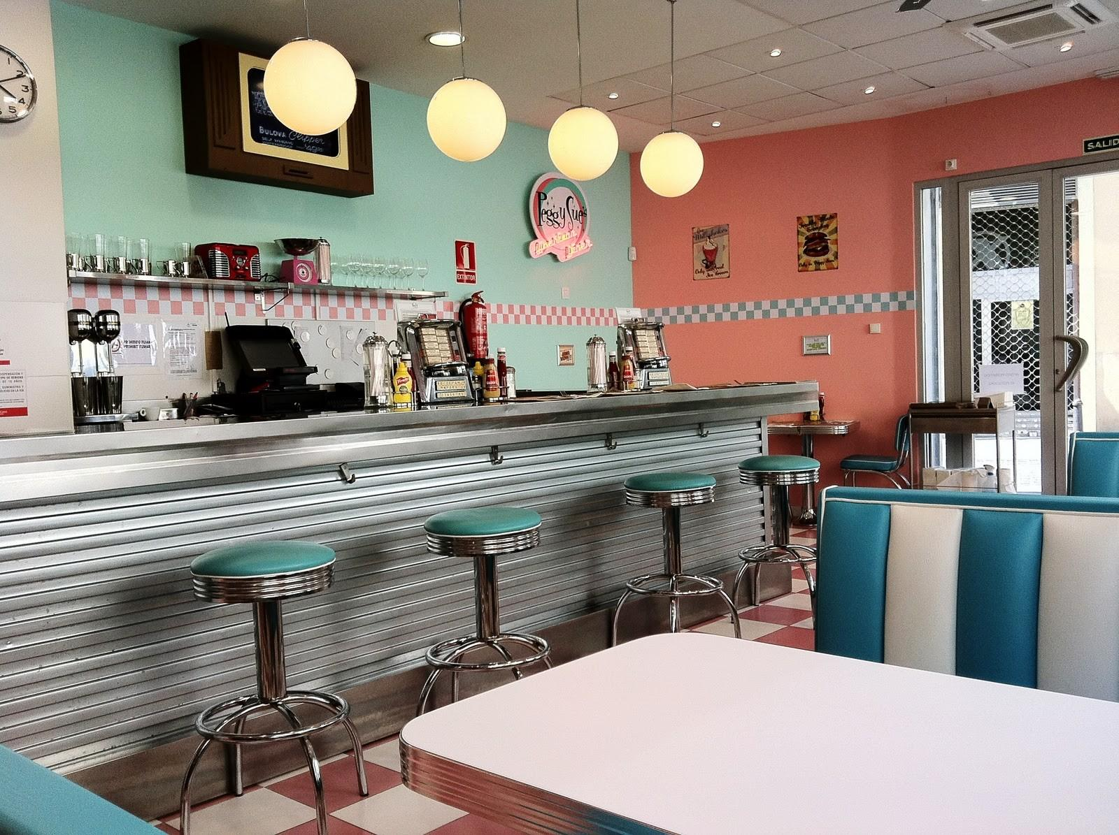 American Diner Diners 50s Retro