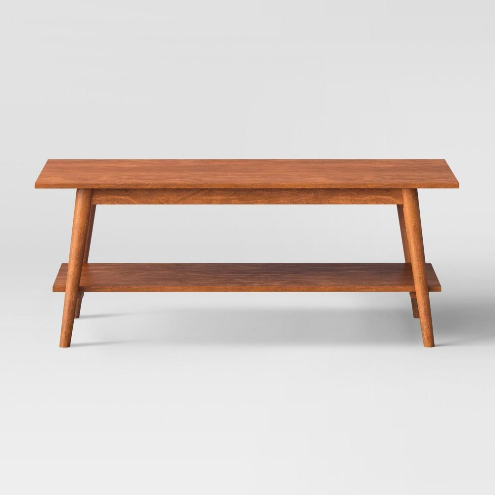 Amherst Mid Century Modern Coffee Table Brown Target