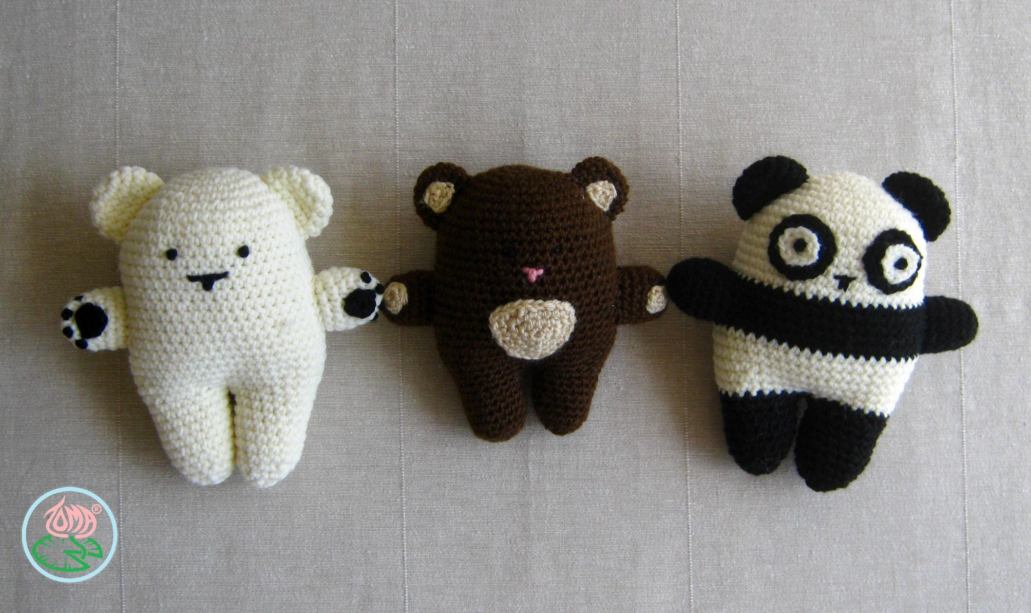 Amigurumi Bear Family Toma Creations