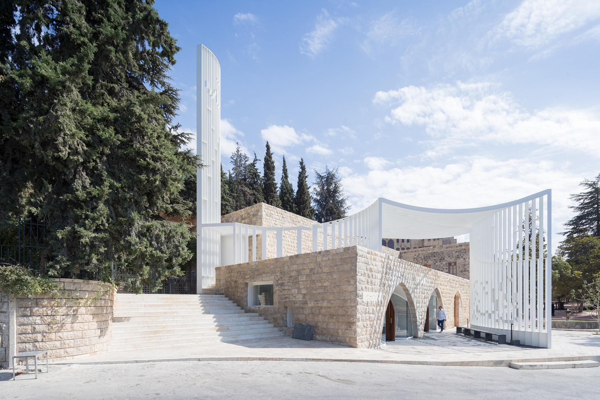 Amir Shakib Arslan Mosque Architects Archdaily