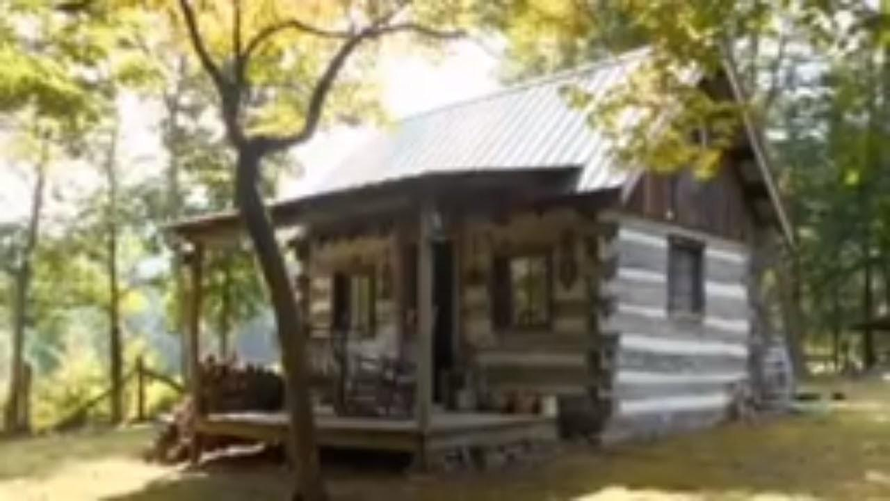 Amish Built Tiny Rustic Cabin Amazing Small House Design