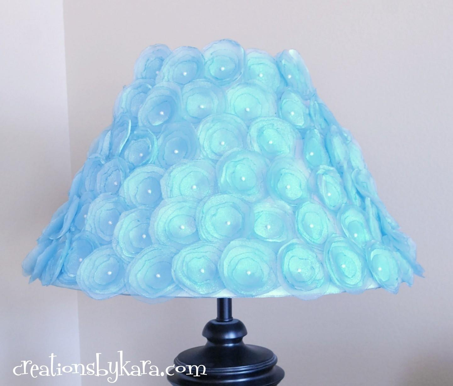 Amusing Diy Decorate Lamp Shade Rope