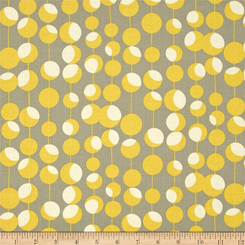 Amy Butler Midwest Modern Martini Mustard Discount