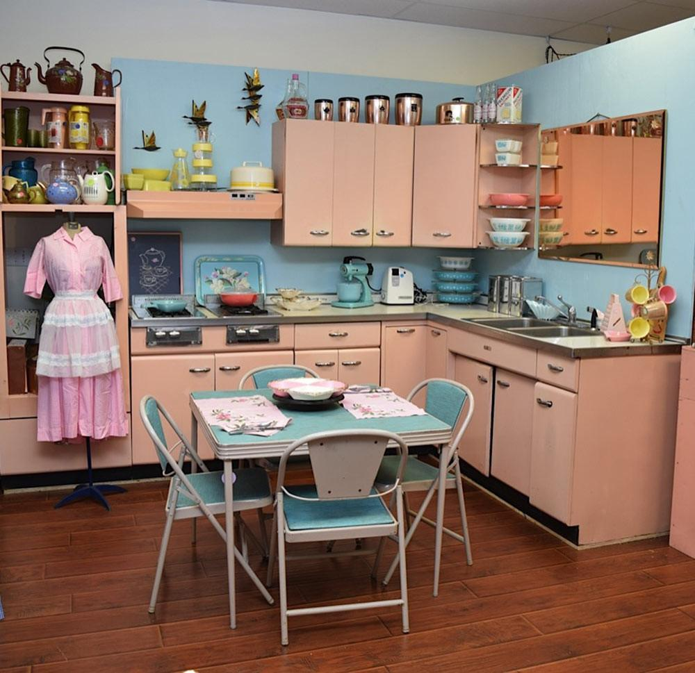 Amy Saves 1957 Harrison Pink Steel Kitchen Now