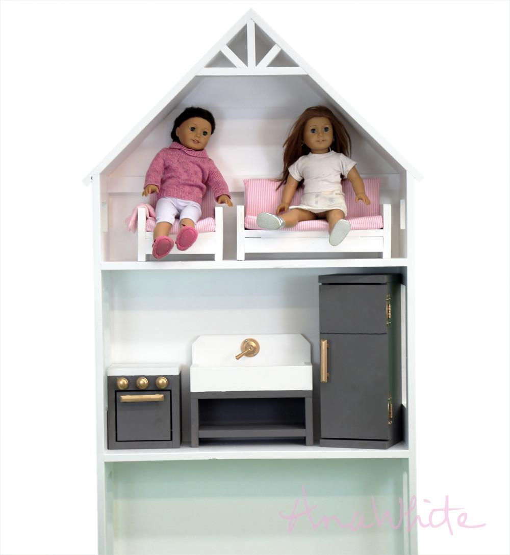 Ana White American Girl Doll Kitchen Sink