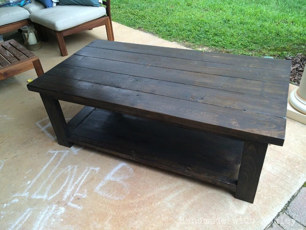 Ana White Bigger Rustic Coffee Table Diy Projects