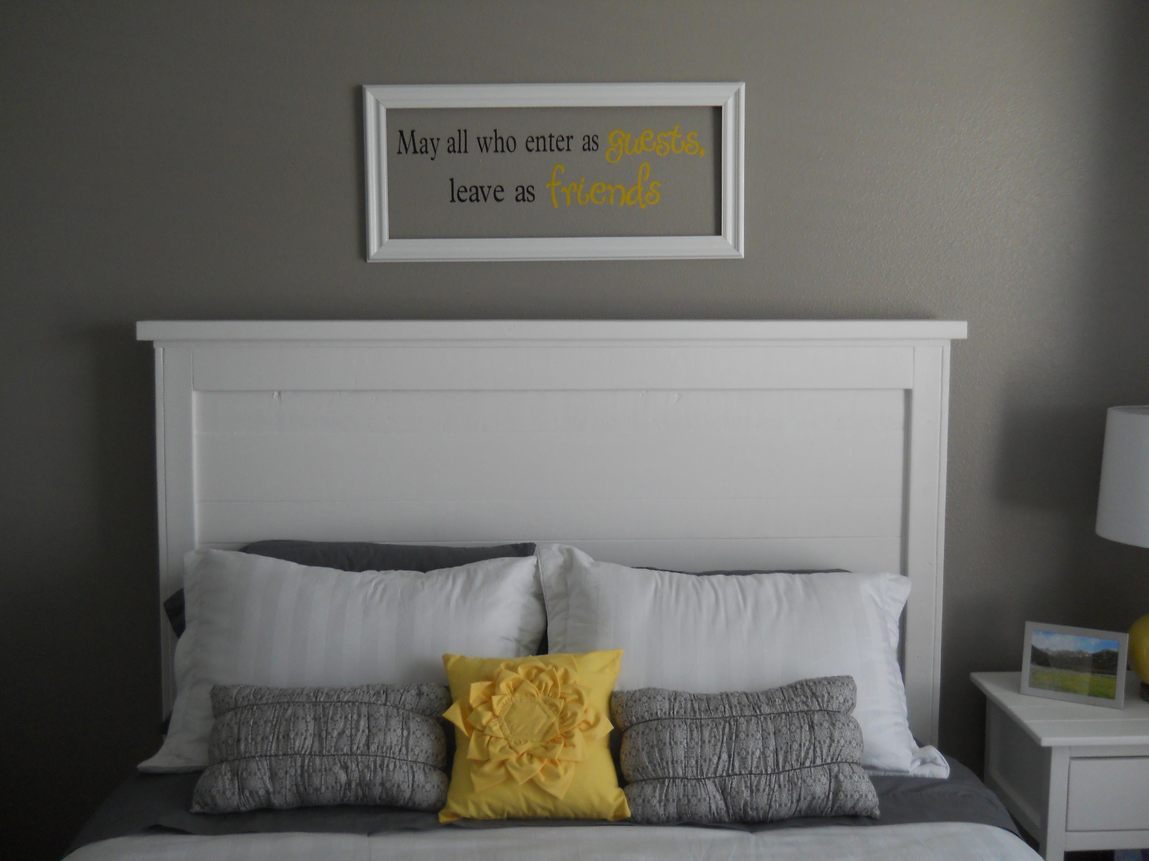 Ana White Build Reclaimed Wood Headboard Queen