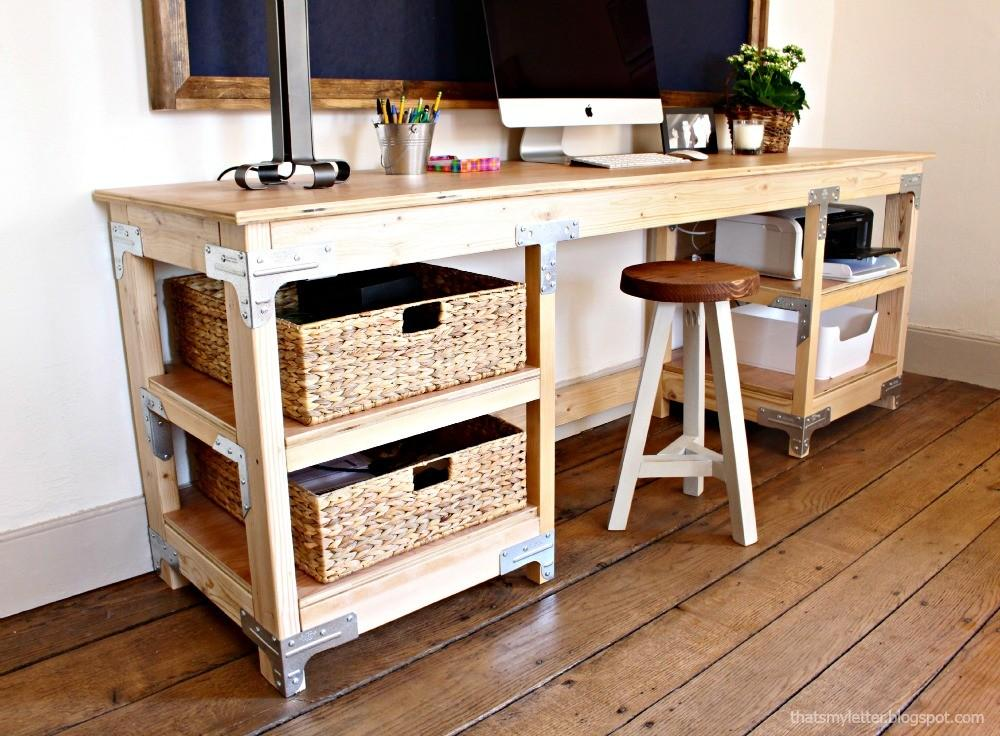 Ana White Diy Desk Workbench Projects