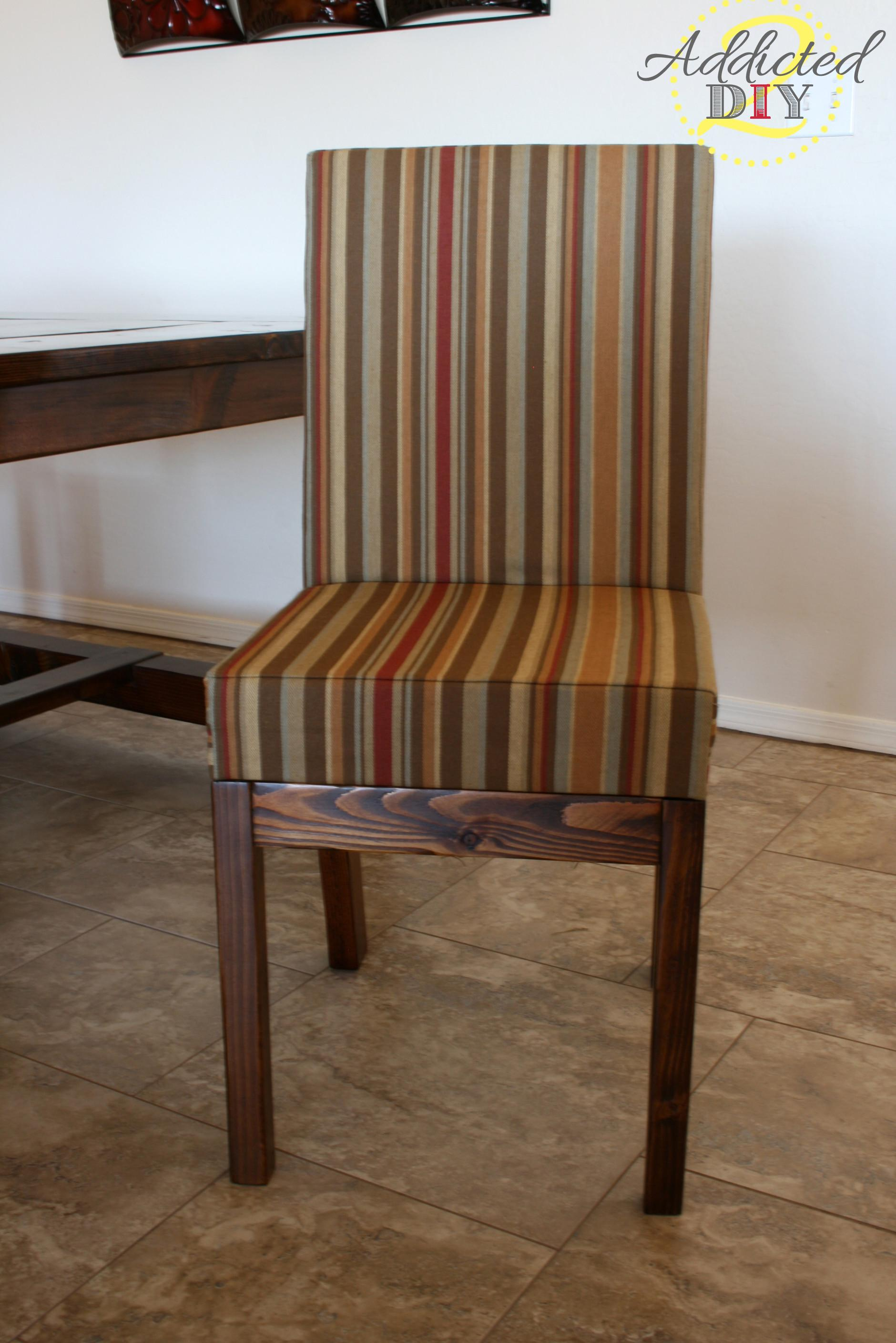 Ana White Diy Upholstered Dining Chairs Projects