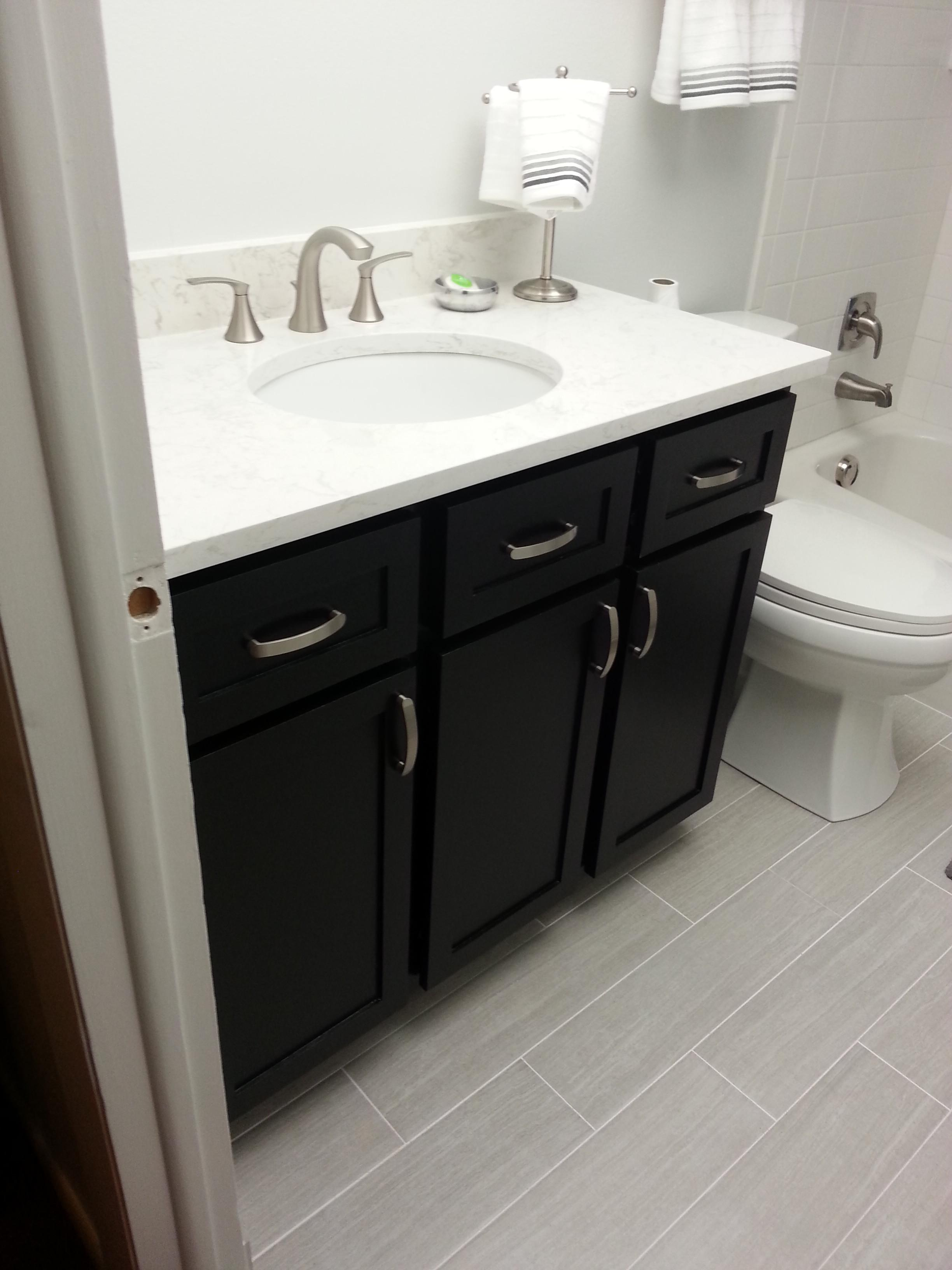 Ana White Guest Bath Remodel Diy Projects