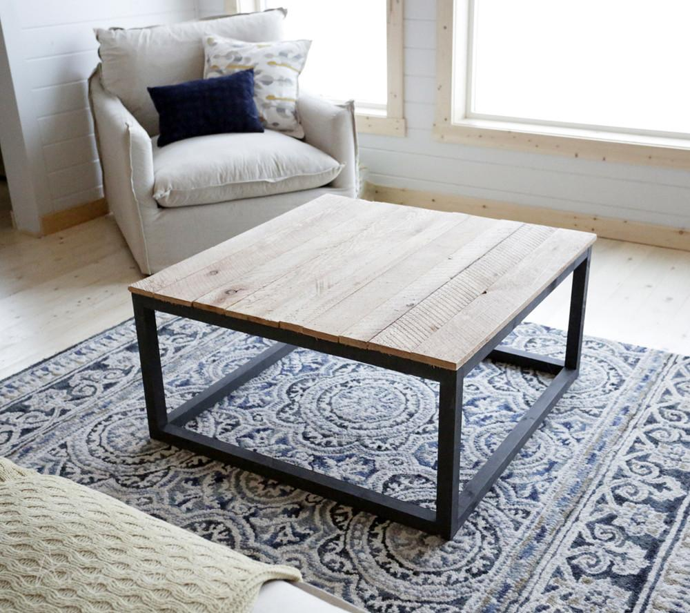 Ana White Industrial Style Coffee Table Seen Diy