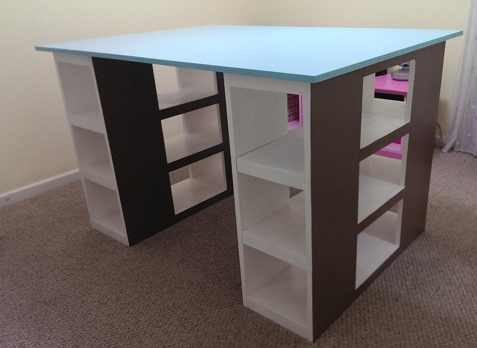 Ana White Modern Craft Table Diy Projects
