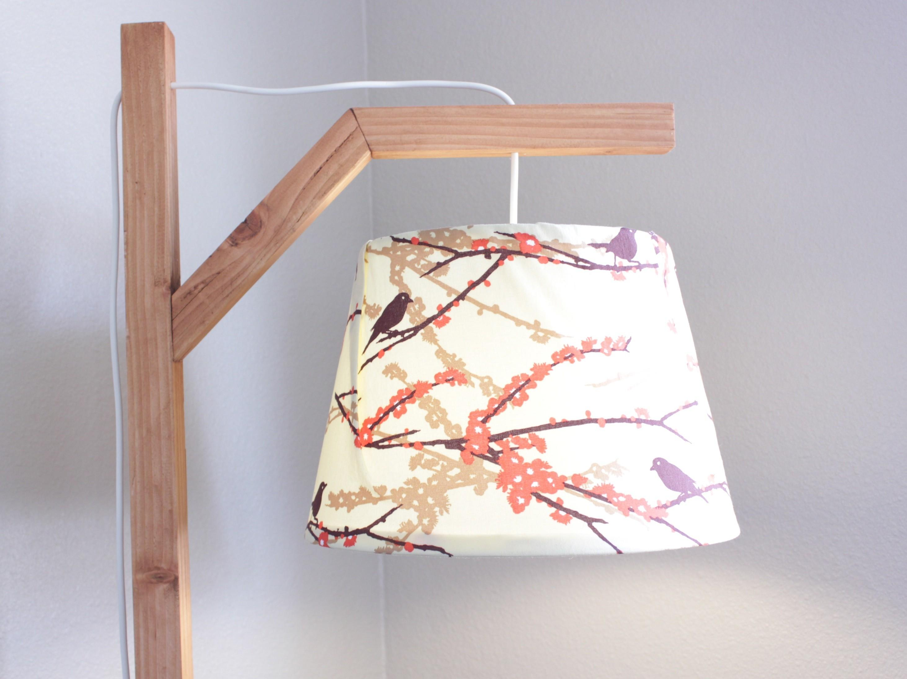 Ana White Nature Inspired Floor Lamp Diy Projects