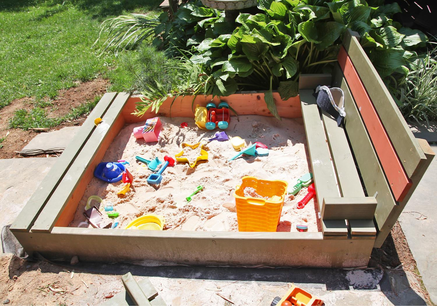 Ana White Our New Sandbox Diy Projects