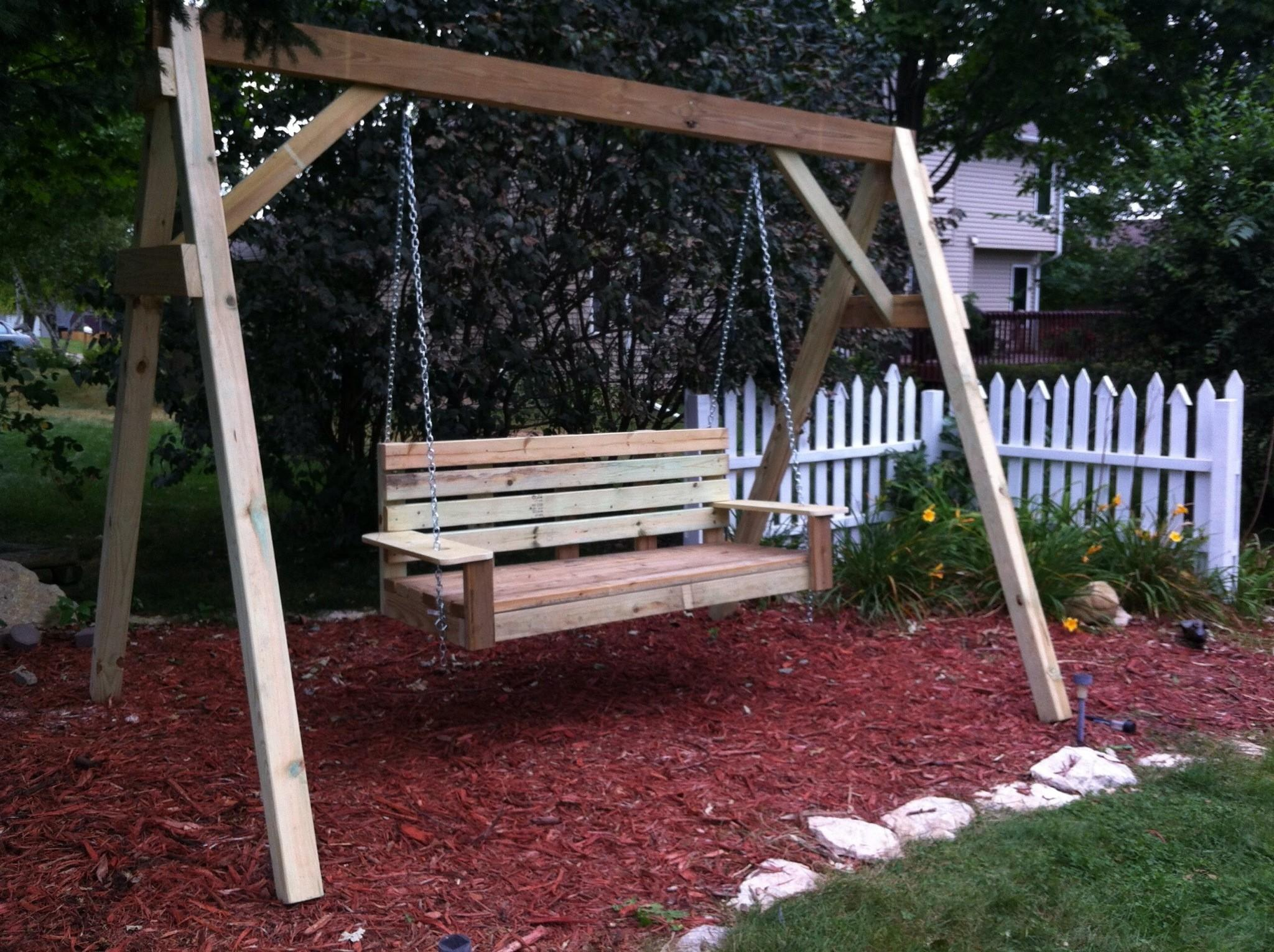 Ana White Porch Swing Diy Projects