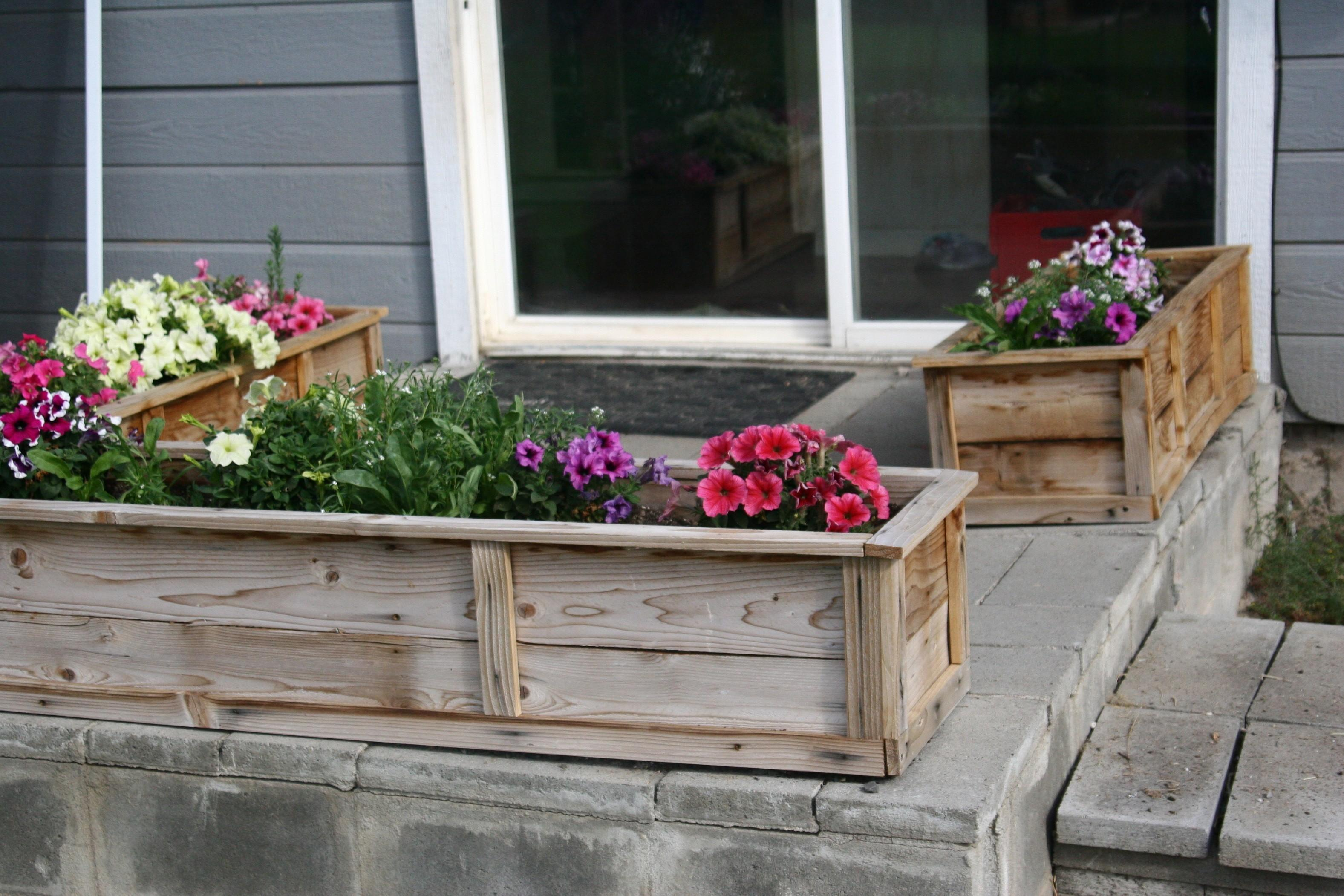 Ana White Raised Flower Planter Beds Diy Projects