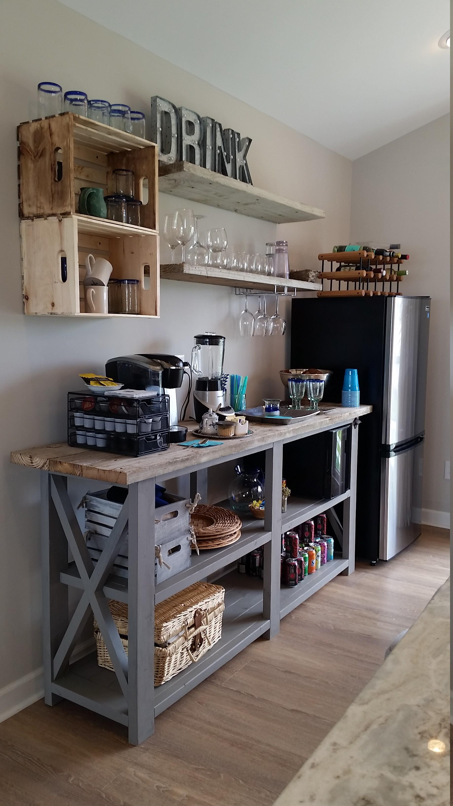 Ana White Rustic Beach Beverage Center Diy Projects