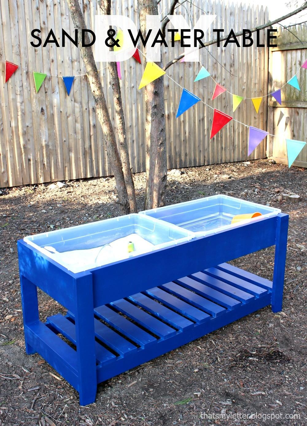 Ana White Sand Water Play Table Diy Projects