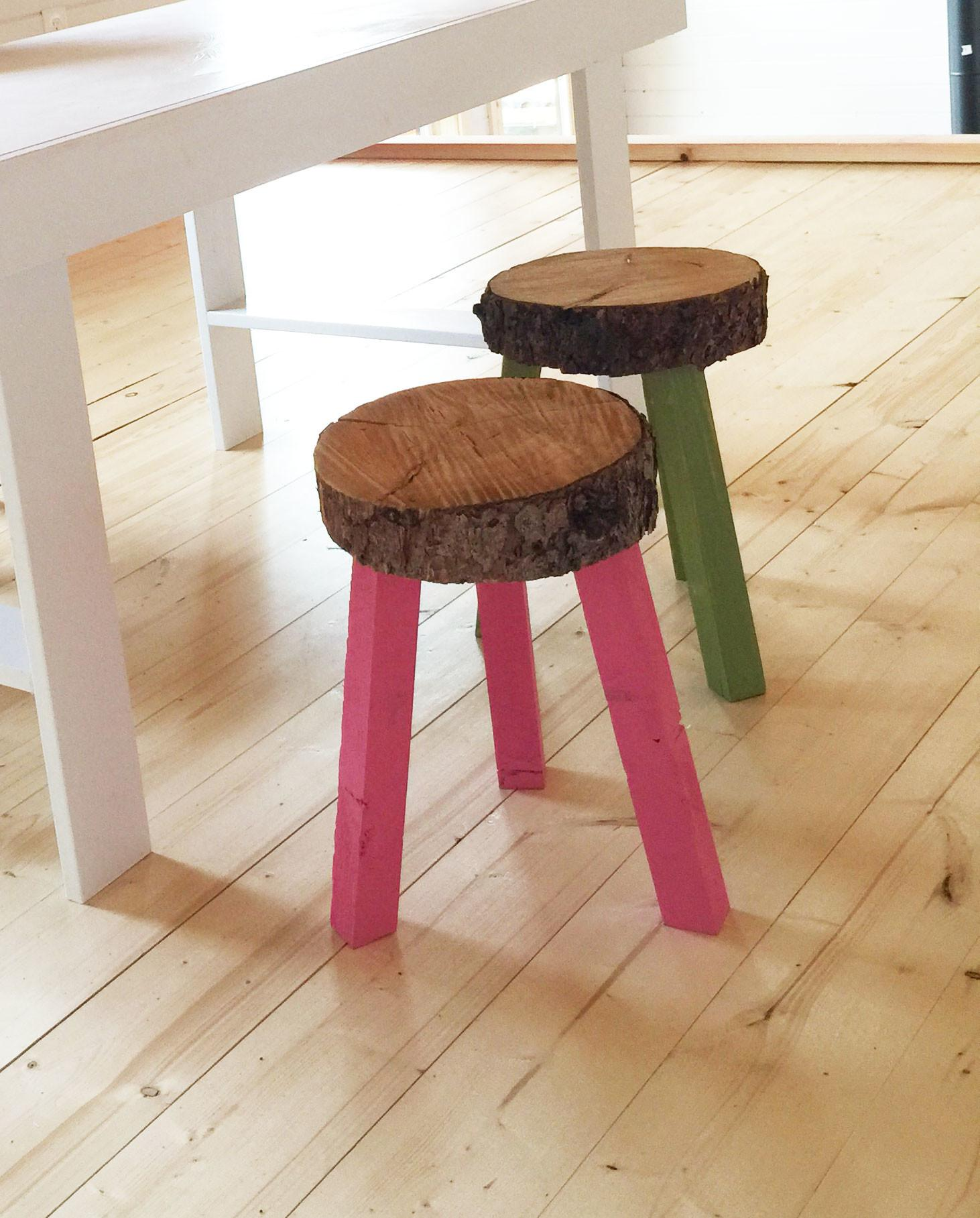 Ana White Stump Stools Building Grid Alaska