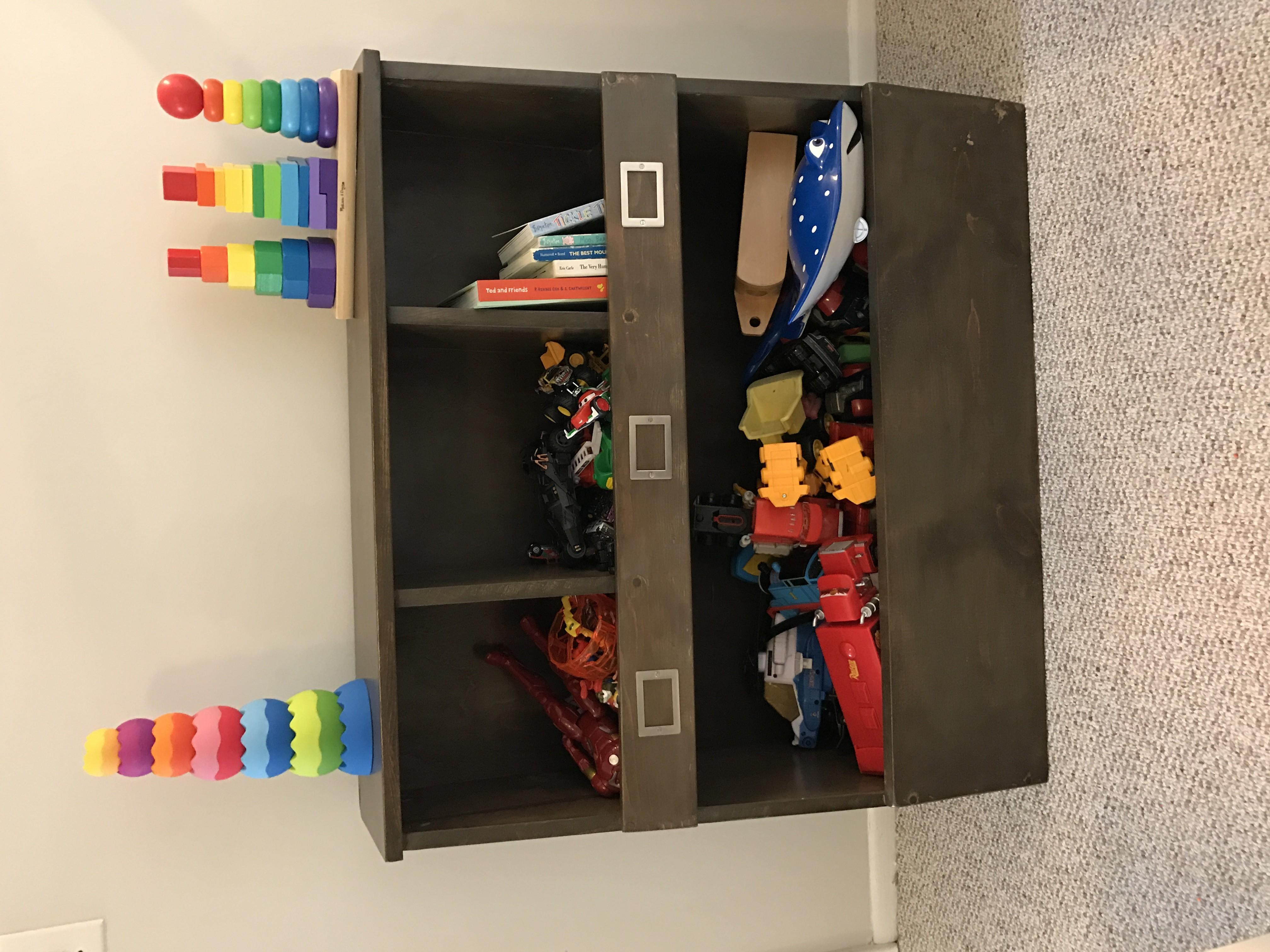 Ana White Toy Storage Cubbies Diy Projects