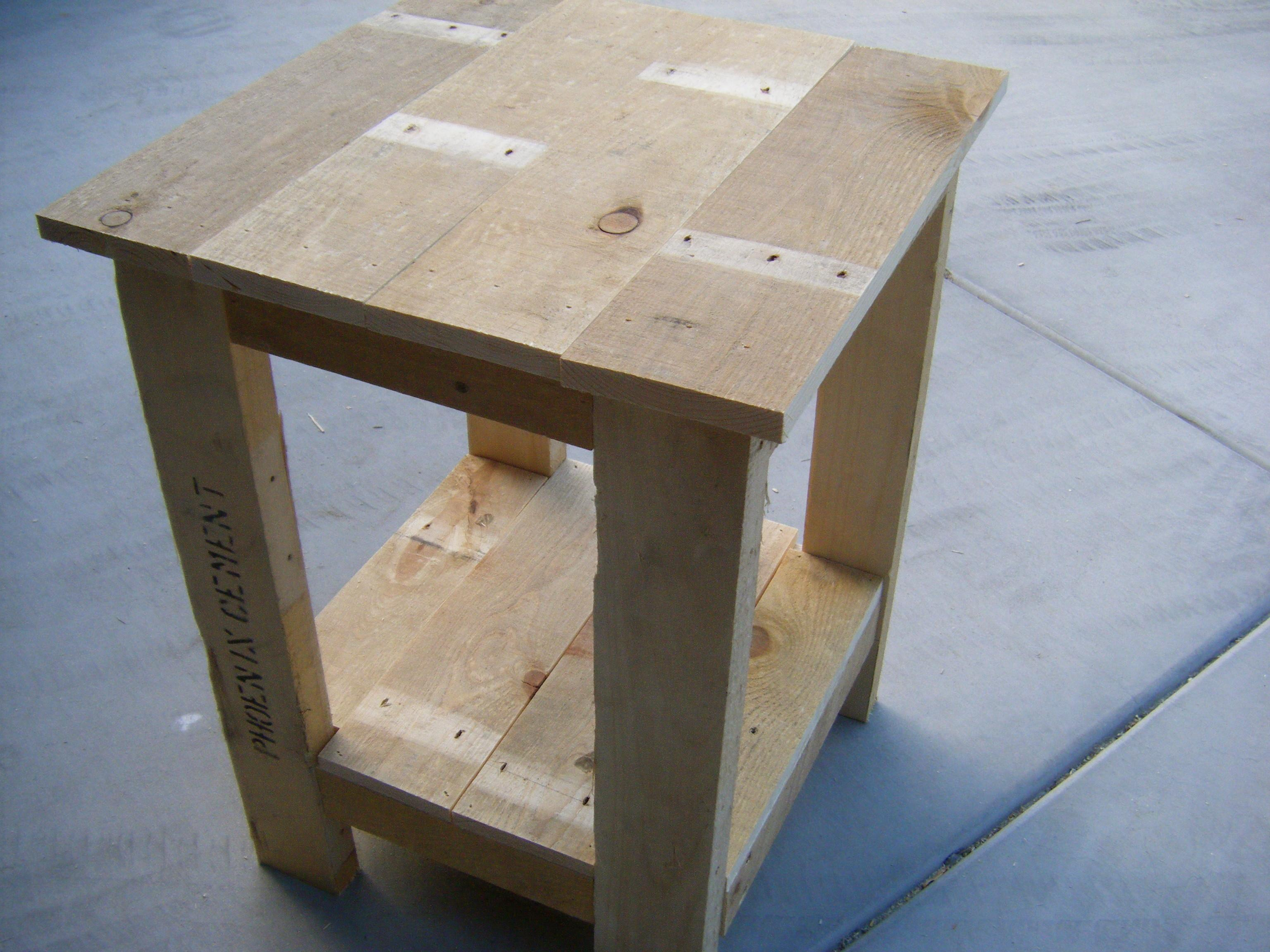 Ana White Tryed Side Table Pallet Redux Diy Projects