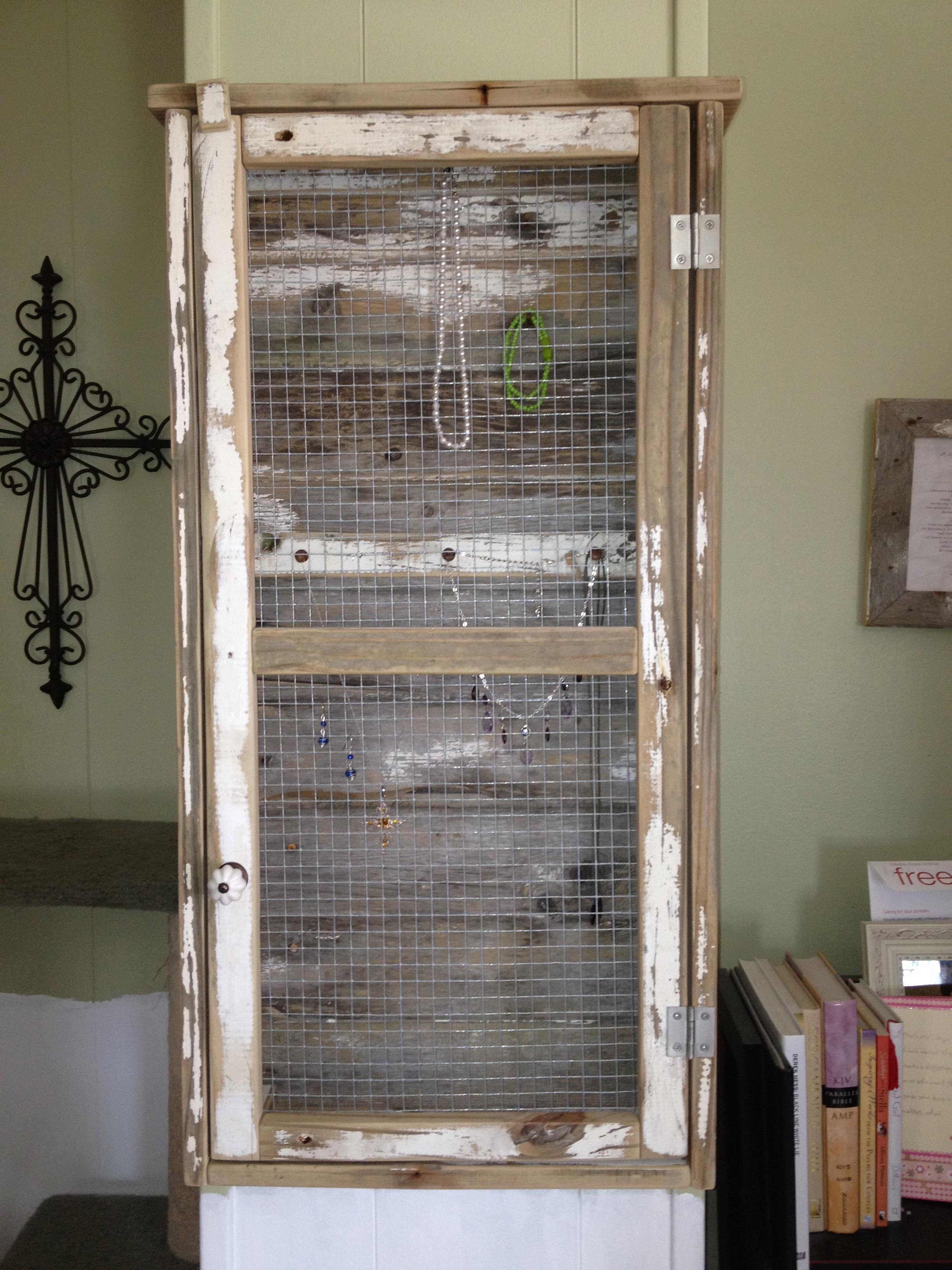 Ana White Wall Jewelry Cabinet Diy Projects
