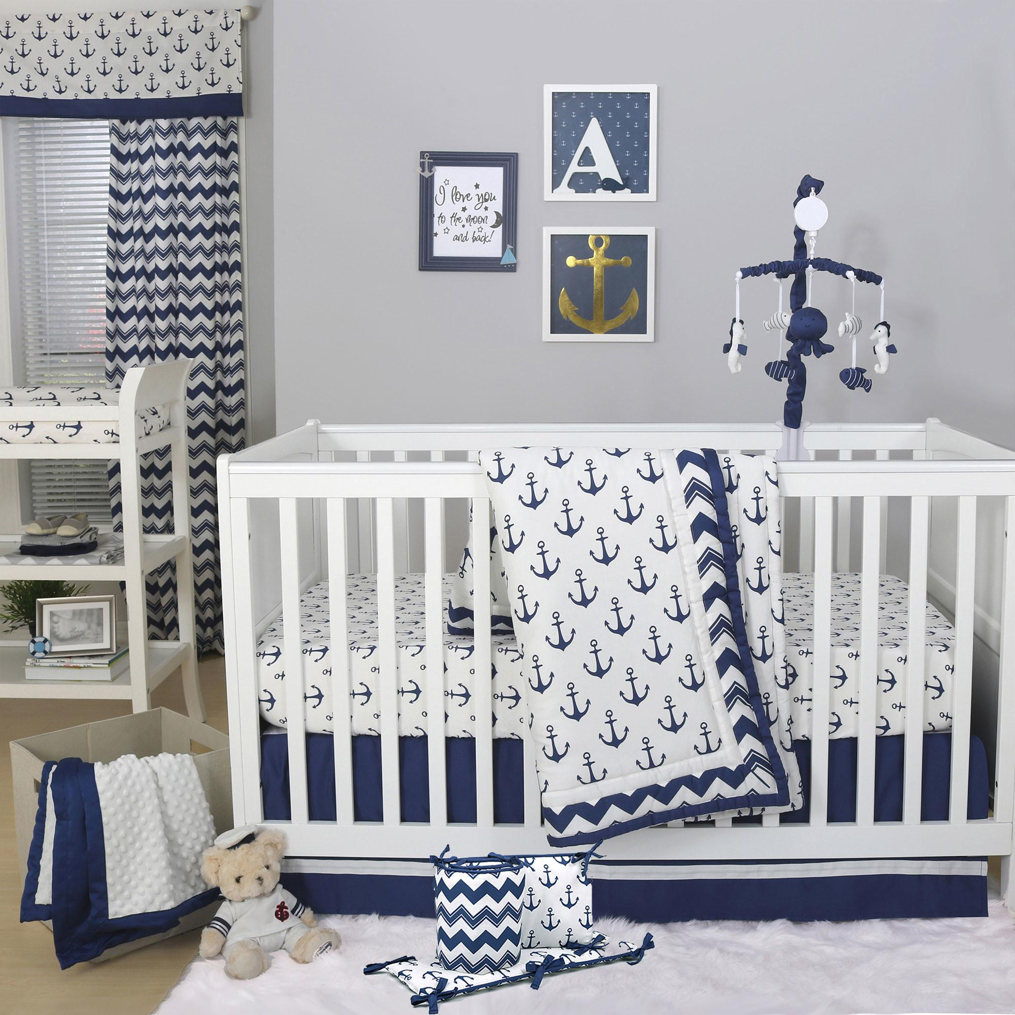 Anchor Crib Bedding Baby Kids