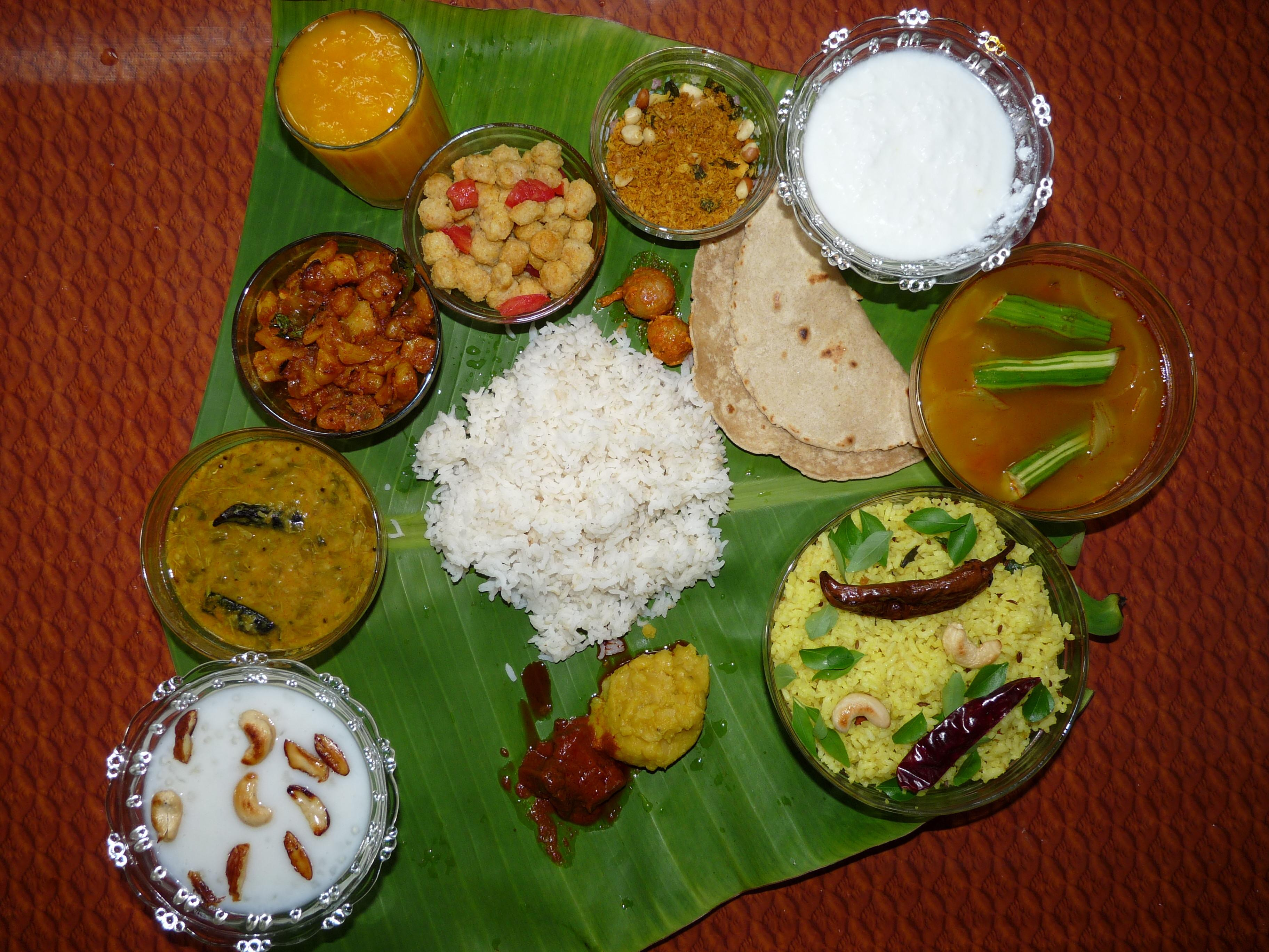 Andhra Combo Meal Wikimedia Commons