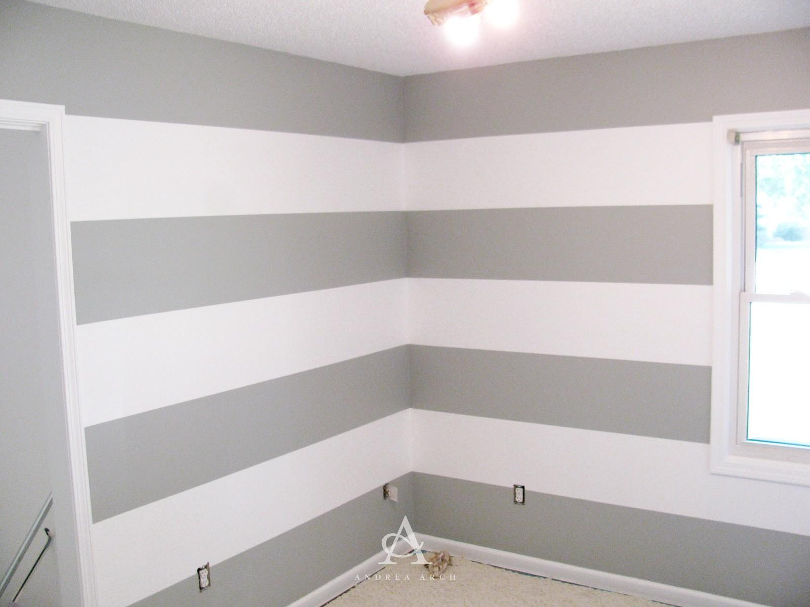 Andrea Arch Diy Paint Perfect Wall Stripes