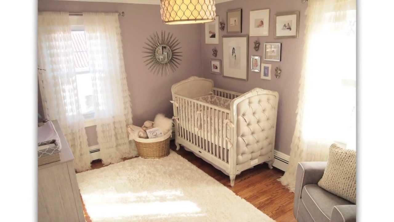 Angel Themed Design Baby Girl Nursery