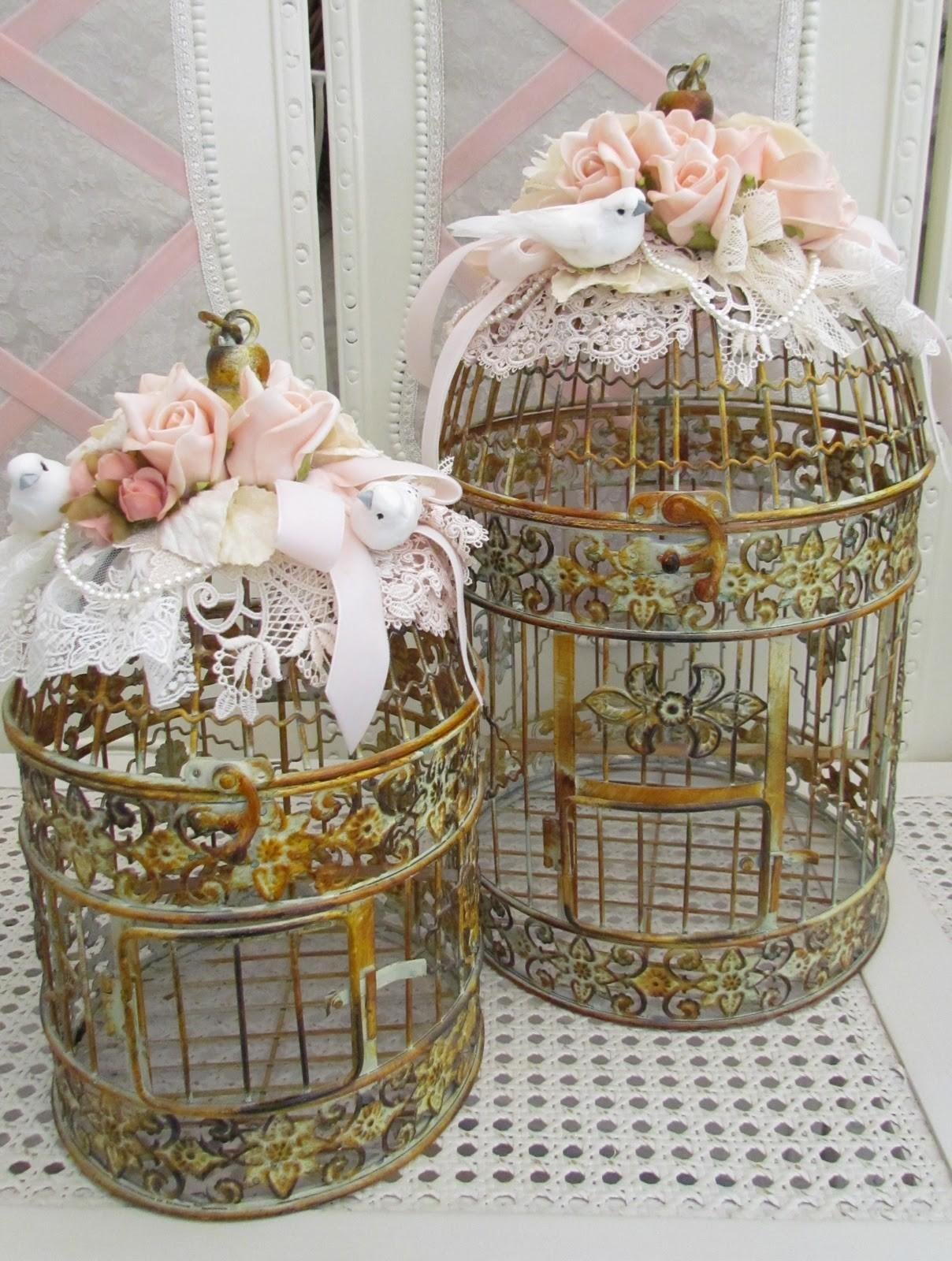 Angela Lace Bird Cages