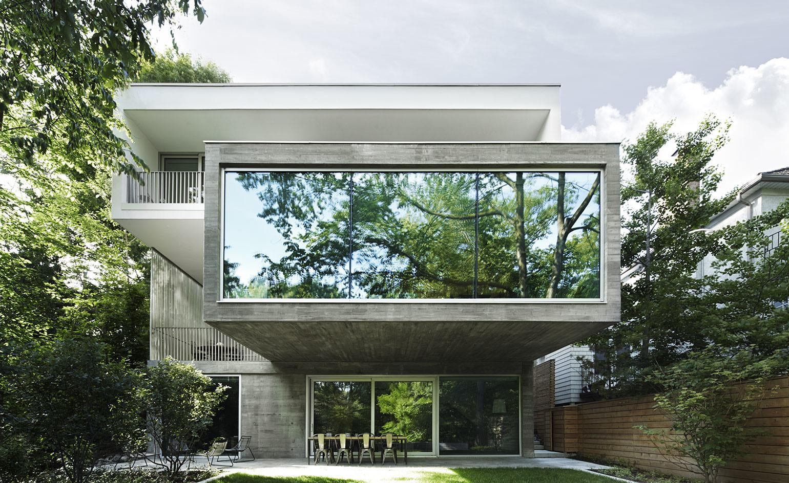 Angela Tsementzis Canadian Concrete House