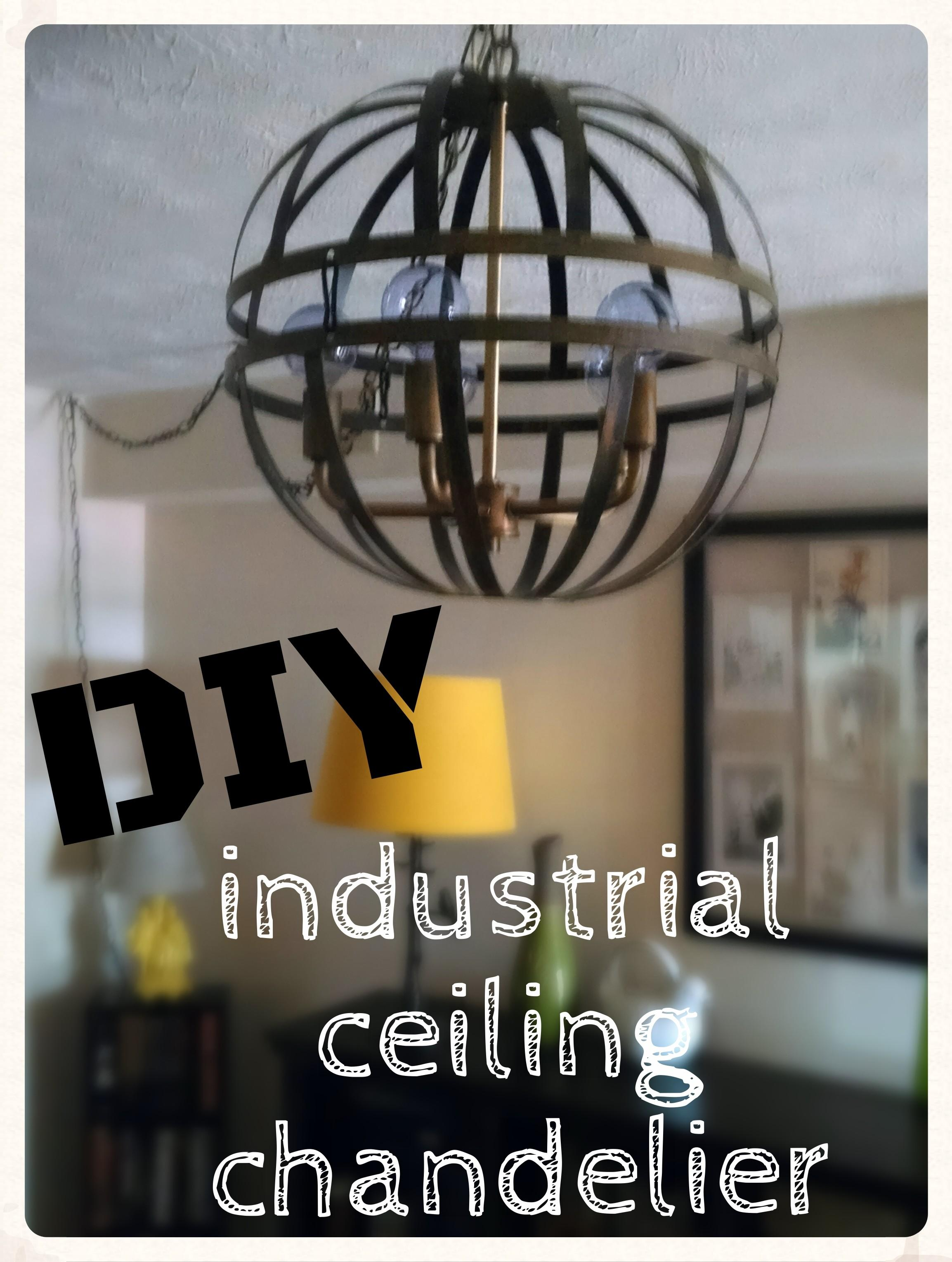 Angelina Dawn Tomato Diy Industrial Ceiling Chandelier