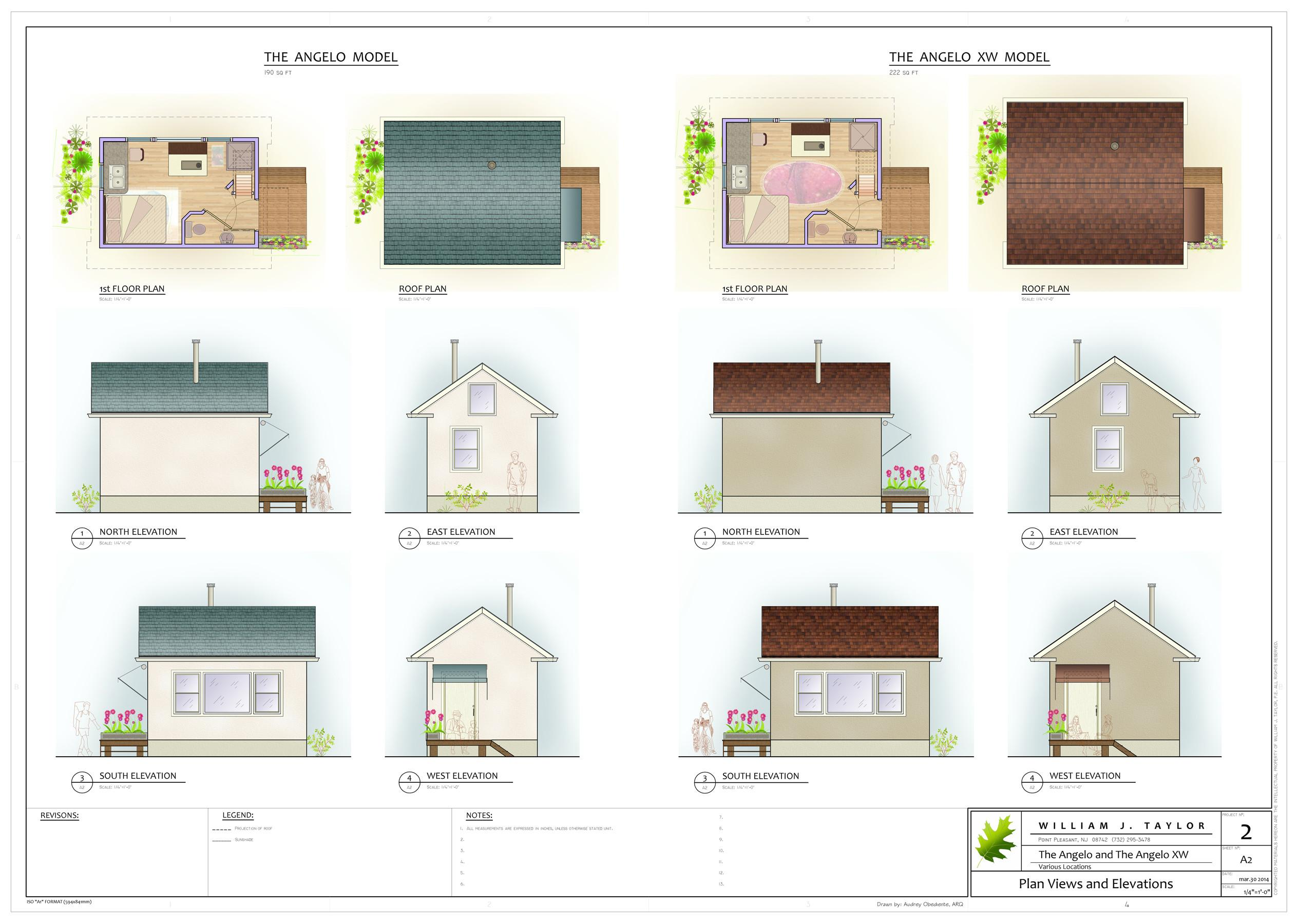 Angelo Affordable Open Plan Small Footprint