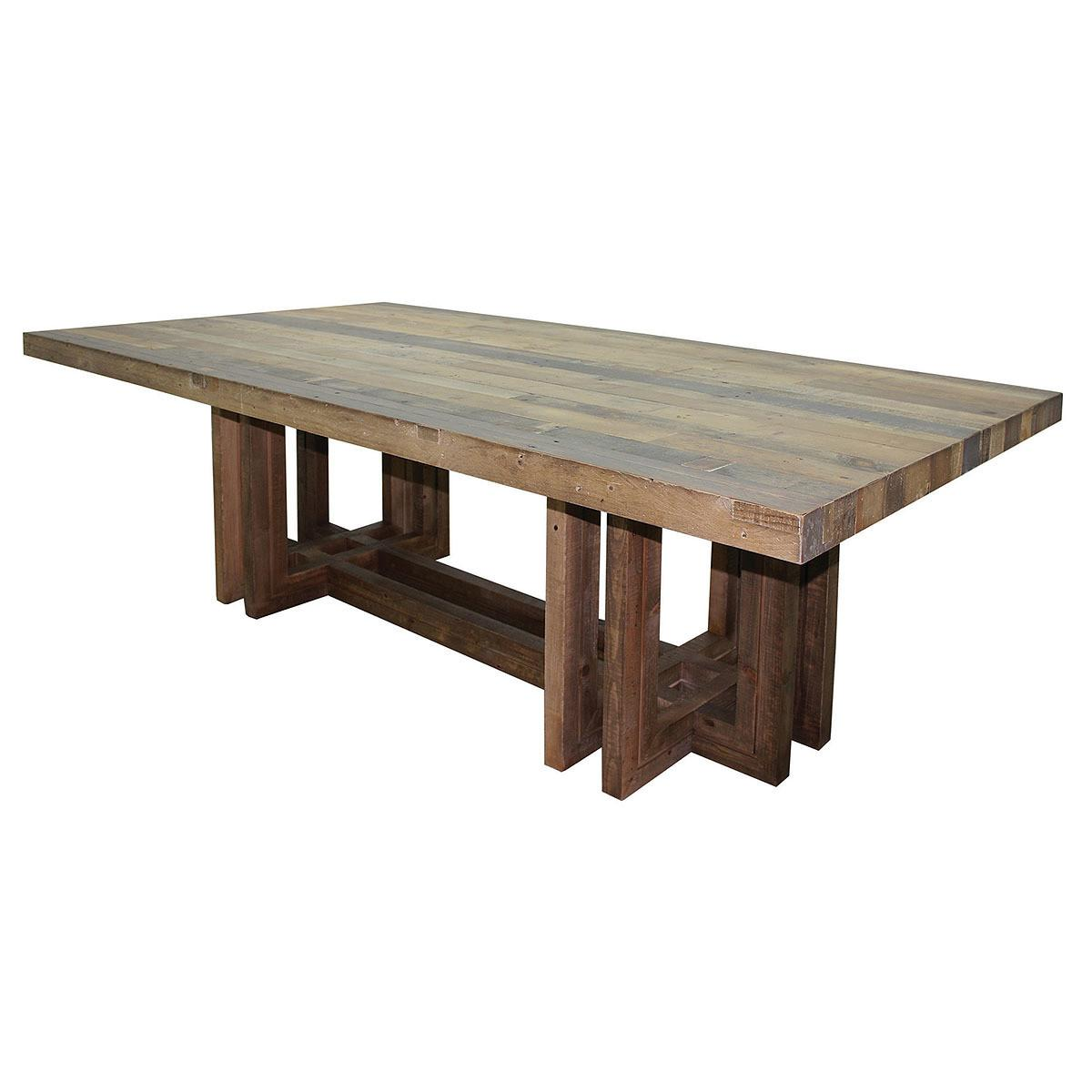 Angora Dining Table Modern Reclaimed Wood Tables