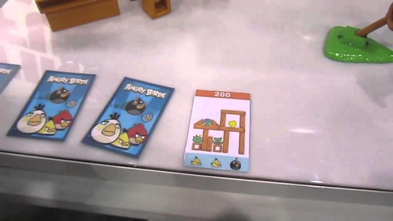 Angry Birds Board Game Mattel Hands
