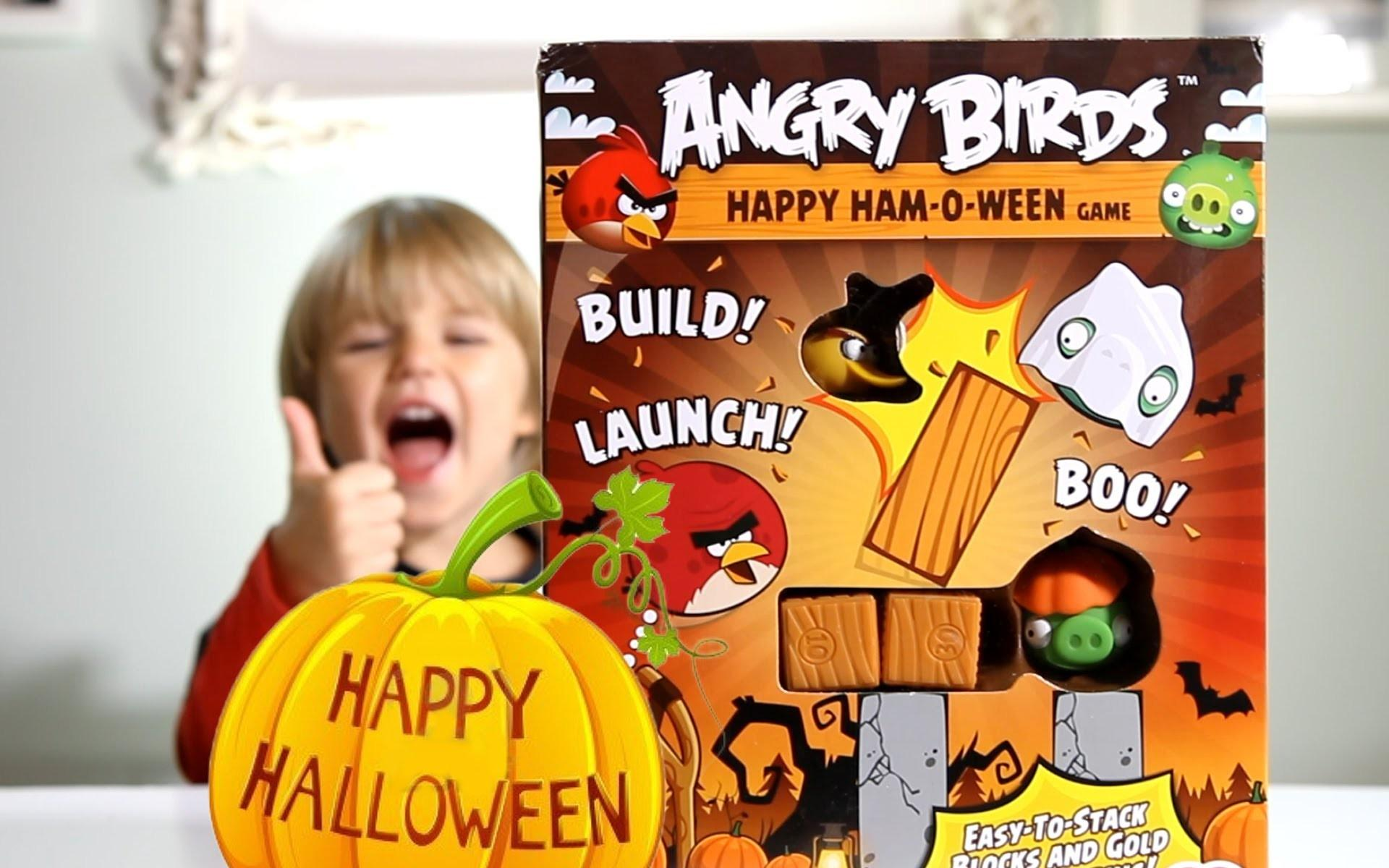 Angry Birds Happy Ham Ween Game Halloween Edition