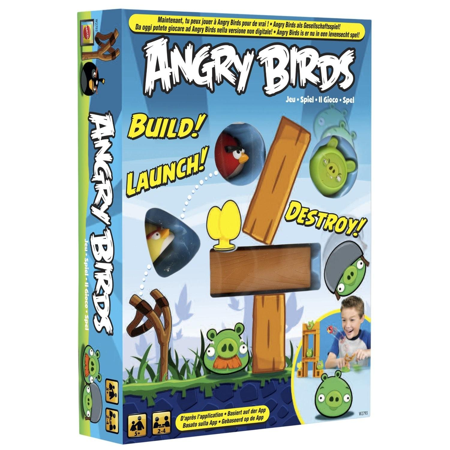Angry Birds Knock Wood Game Nerdy Children