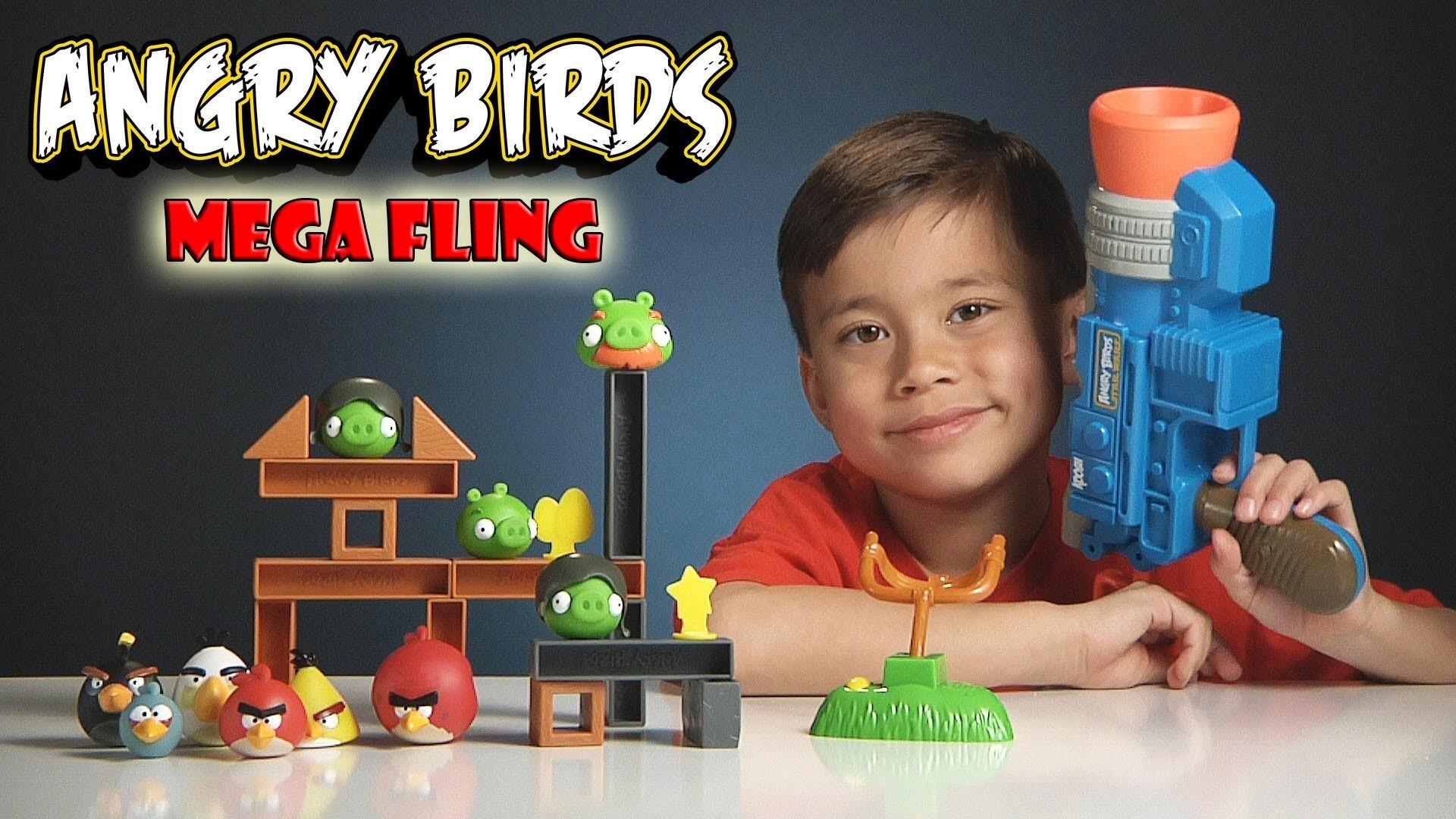 Angry Birds Mega Fling Game Epic Launcher Fail