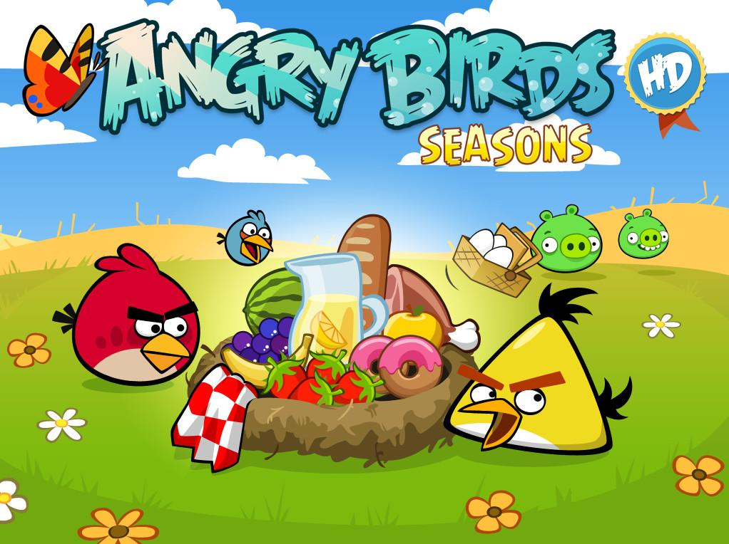 Angry Birds Seasons Game Version