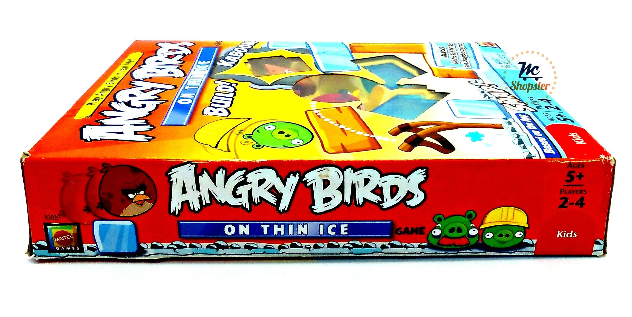 Angry Birds Thin Ice Mattel Popular Phone App Board