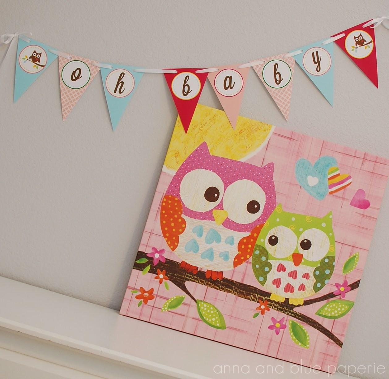 Anna Blue Paperie New Shop Owl Love