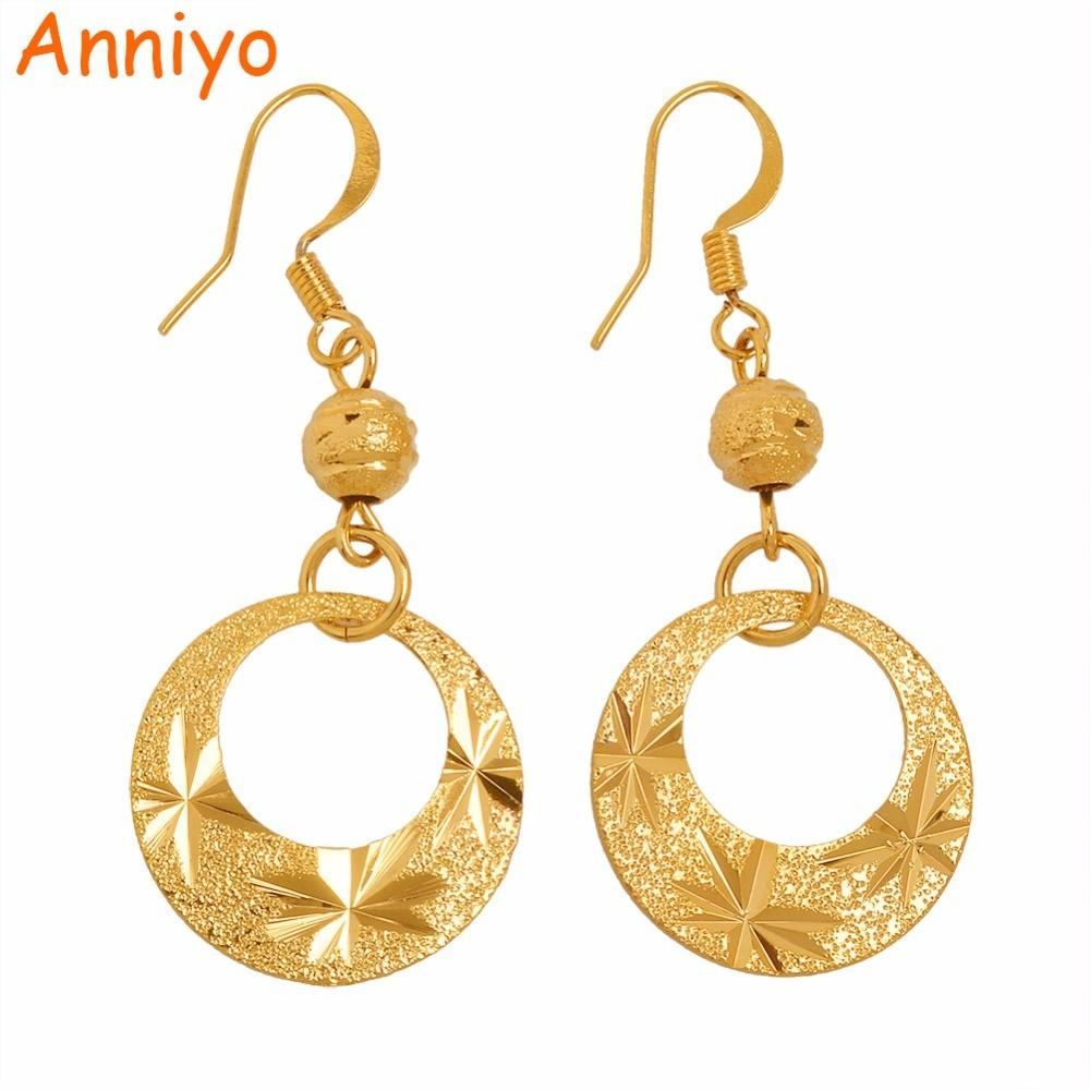 Anniyo Fashion Metal Earring New Women Girl Trendy