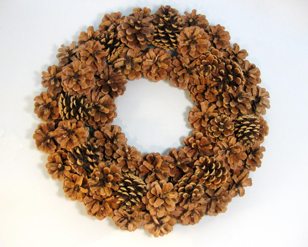 Another Bright Idea Pine Cone Wreaths Tutorial