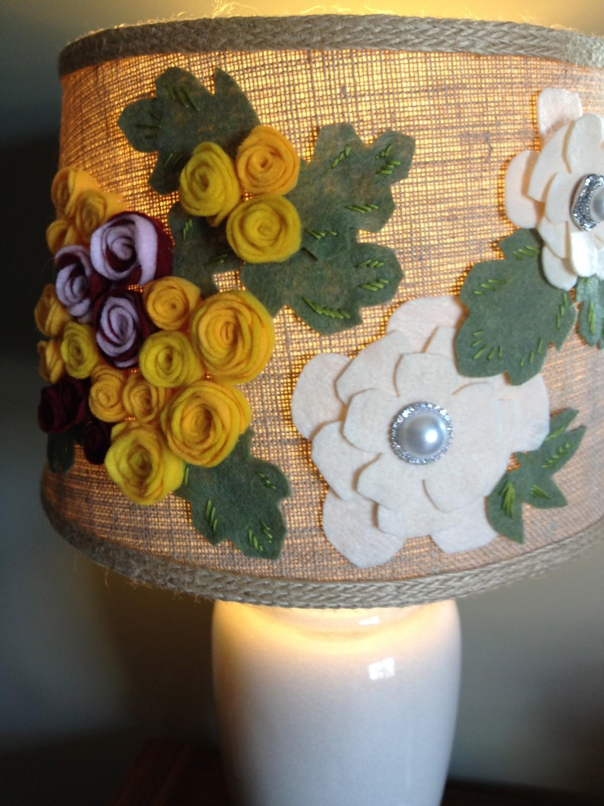 Another Crafty Day Diy Anthropologie Style Lamp Felted